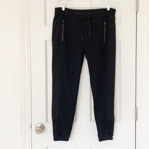 ZARA MAN joggers size medium black sweatpants